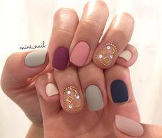 Best Nail Polish Colors of 2020 for a Trendy Manicure Diy Nail Designs, Colorful Nail Designs, Asian Nails, Nail Pops, Beach Nails, Trendy Nail Art, French Tip Nails, Super Nails, Holiday Nails