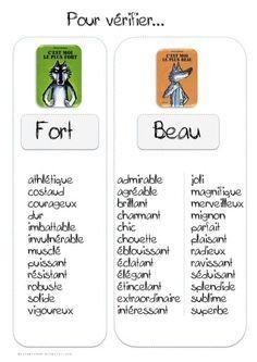 liste de synonymes : Les loups - Bout de gomme