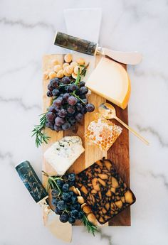 Cheese Boards!  Entertaining with nibbles via A House in the Hills