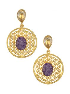 Druzy Fashion Earrings For Women #Women #indiandesigner #womensshopping #womenswear #ethnicstyle #traditionalwear #fashionable #stylish #wedding #jewellery #accessories #stepintostyle #stepintoawesome #beautifulyou #follow #trendy #love #gift Shop Now: http://bit.ly/1NhD0Te