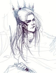 Thranduil sketch by Rociell.deviantart.com on @DeviantArt