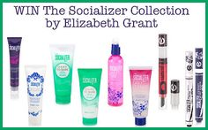 WIN The Entire Socializer Collection From Elizabeth Grant Worth Over $220 Open to CAN & US Elizabeth Grant, Cleanse, Shampoo, Personal Care, Canning, Bottle, Beauty, Collection, Personal Hygiene