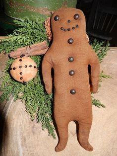 Gingerbread Boy - Schneeman Folk Art