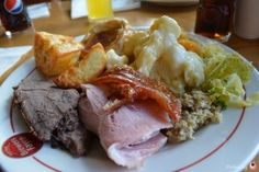 Lunch time carvery at Brewers Fayre