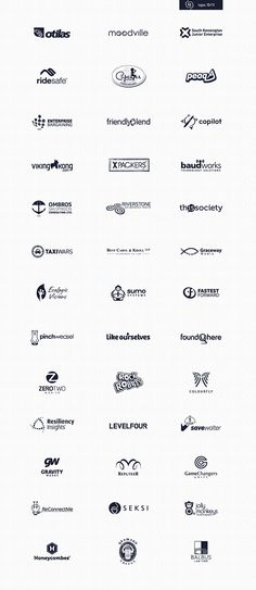 A collection of my logos designed 2010-2011.