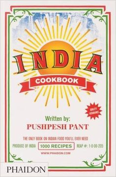India: The Cookbook: Pushpesh Pant: 9780714859026: Amazon.com: Books
