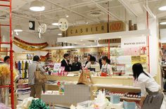I must visit Wrapple in Shibuya the next time I'm in Japan!  craft and wrapping store