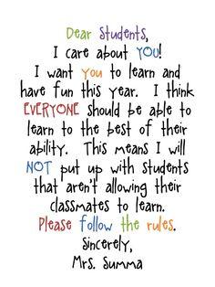 I Love My Classroom: Classroom Management