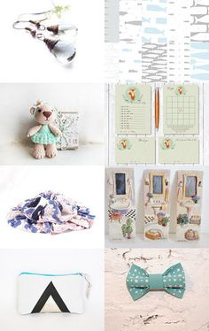 blue by Kate Cutelittle on Etsy--Pinned with TreasuryPin.com