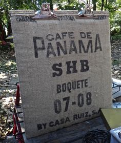 Bulletin Board, LARGE Burlap Clip Board, Message Board, Message Center, Coffee…