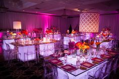 Loving Lampshade Centerpieces - Party Favorites - Event Planning Resource - BAR MITZVAHS WEDDINGS BAT MITZVAHS SHOWERS SWEET 16s