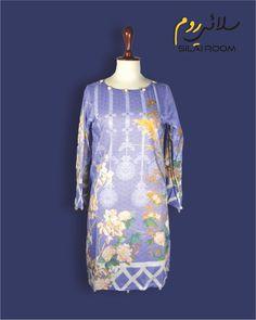 Lawn, Digital Prints, Purple, Fabric, Summer, Shirts, Collection, Color, Fashion