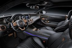 The Powerful Brabus 859 6.0 Biturbo Coupe Set for Geneva Debut