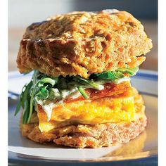 """""""It's easy to see why The Dill Na Na, a sweet potato biscuit stuffed with arugula, dill mayonnaise and a potato-and-onion frittata, made our list of the South's Best Cheap Eats. You can find this creation at Handsome Biscuit in Norfolk, Virginia. Follow the link in our profile to see all of our favorite budget bites! #MySouthernLiving : Scott Suchman"""" Photo taken by @southernlivingmag on Instagram, pinned via the InstaPin iOS App! http://www.instapinapp.com (03/05/2016)"""