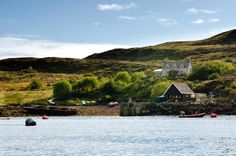 Tanera Mor, a Scottish Island that is for sale. I'd buy it in a heartbeat!