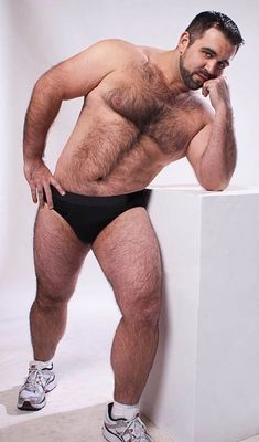 Bear free gay picture
