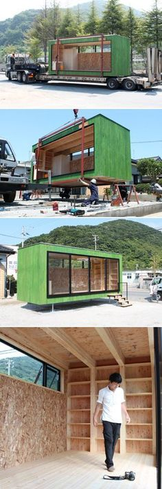 Container Homes : Photo