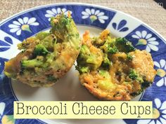 Broccoli Cheese Cups....so amazingly cheesy and good! Plus 21 Day Fix Approved! #21dayfix #cleaneating