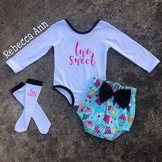 28b384766 Excited to share this item from my #etsy shop: birthday outfit, birthday set,  cupcake outfit, bloomers, smash cake, bummies, high waisted bloomers, ...
