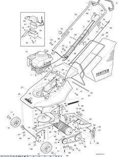 Hayter Harrier 41 - 30501001 Spare Parts Machine diagrams Schematics Shoulders of shoreham www.shouldersofshoreham.co.uk