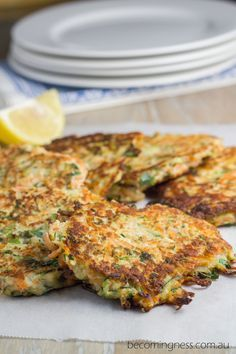 Zucchini & Sweet Potato Fritters. Liv: look for similar Thermomix recipe so you can use Thermomix