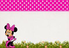 Coqueta Minnie Rosa: Etiquetas para Candy Bar para Imprimir Gratis.