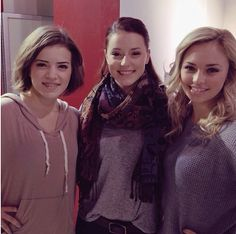 Riley , Chloe and Michelle