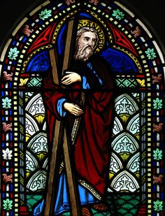 Saint Andrew, Stained Glass