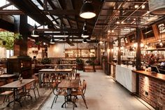 Stomping Ground restaurant by Studio Y Melbourne Australia