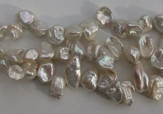 Freshwater Pearl Beads Petal Shape Top Drill
