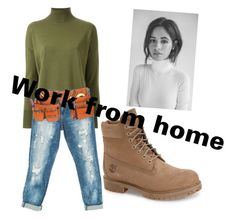 Camila by lowkeybrenny on Polyvore featuring polyvore fashion style Scanlan Theodore Sans Souci Timberland clothing