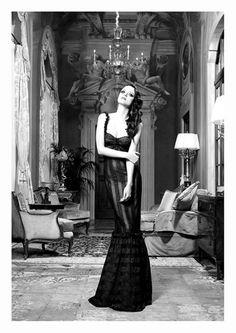 Liebe Fotografie Modefotografie Schusse Elegant Schwarz Und Weiss Glamour Stil