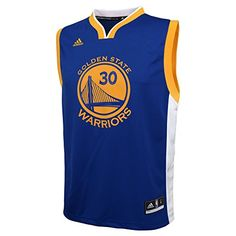 best service d2db8 fbcee NBA Golden State Warriors Curry S   30 Boys 8-20 Replica Road Jersey,