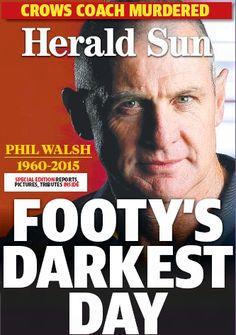 RIP Phil Walsh Crows, Football Team, Ravens, Raven, Football Squads, Crow