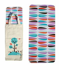Cool bread board and bag...