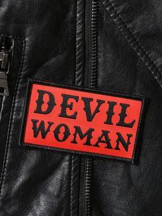 Devil Woman Patch -