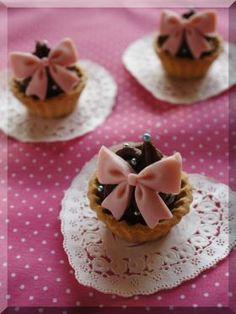 「【バレンタイン】ラズベリーの生チョコタルト♪」cherry♪ | お菓子・パンのレシピや作り方【corecle*コレクル】