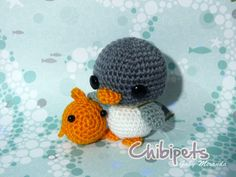 Little penguin and pal by Chibi-pets on deviantART