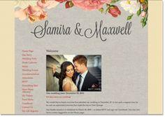 POSSIBLE WEDDING WEBSITE Le Jardiner Preview