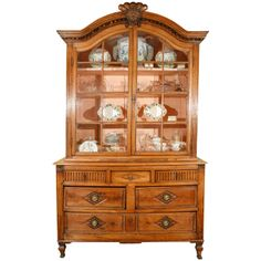 A French Fruitwood Buffet, Circa 1810-1825 | From a unique collection of antique and modern buffets at http://www.1stdibs.com/furniture/storage-case-pieces/buffets/