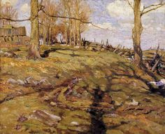 """A.Y. Jackson """"The Edge of the Maple Wood"""" (1910)"""