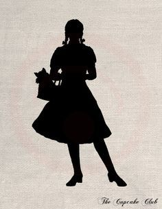 wizard of oz characters silhouettes - Google Search