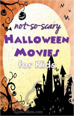 Not So Scary Halloween Movies for Kids - I love the idea of a family night with a funny Halloween movie. You could even read books and dress up in Halloween costumes and make it a party without leaving the house!