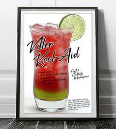 Tea Cocktails, Bar Drinks, Alcoholic Drinks, Summer Cocktails, Cocktail Recipes, Beverages, Alabama Slammer Drink, Blue Lagoon Cocktail, Strawberry Vodka