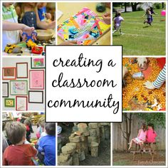 What is a classroom community and why is it important for students? 5 ways teachers can build a classroom community, and 5 ways parents can help. Preschool Schedule, Preschool Rooms, Preschool Classroom, Teach Preschool, Classroom Discipline, Classroom Jobs, Classroom Environment, Effective Classroom Management, Classroom Management Strategies