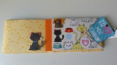 Mini Álbum Gatinhos Comporta até 12 fotos - 10 x 15cm Personalizamos com o nome do seu Bichano! 😊🐱 Peça já o seu🙋 #vivianegiovanistudio #scrapbooking #miniálbum #gatinhosfofos #pets🐾