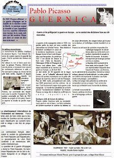 Guernica pg of activities) Spanish Basics, Spanish Culture, Spanish Art, Spanish Lessons, How To Speak Spanish, Learn Spanish, Spanish Teacher, Spanish Classroom, Teaching Spanish