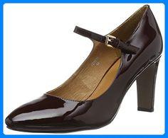 Belmondo Damen 703506 04 Mary Jane Halbschuhe, Rot (Vino) , 40 EU for sale Mary Janes, Peep Toe, Flats, Best Deals, Heels, Link, Fashion, Red, Shoe