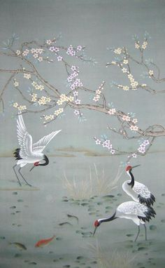 Chinoiserie Wallpaper Designs | ... Wallpaper (CHINOISERIE-14) - China Wallpaper,Hand-Painted Wallpaper