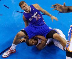 Blake Griffin and Russell Westbrook